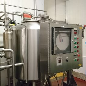 Pasteurisation Tanks